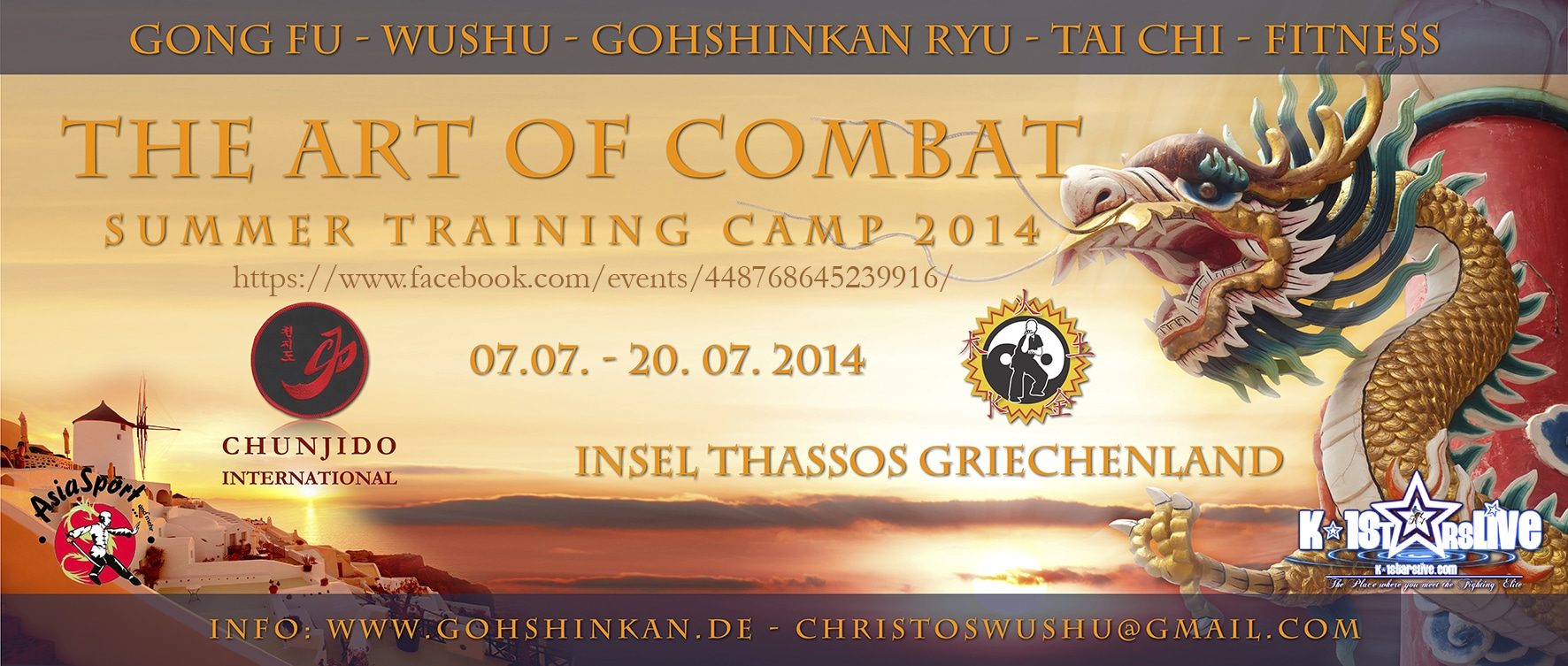 The Art of combat camp banner Kopie Kopie